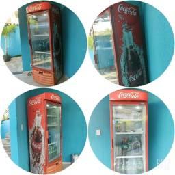 Vendo Geladeira Expositora da Coca cola, marca Metal Frio ,