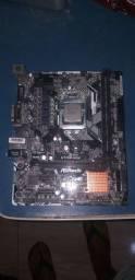 Placa h110m -hg4 e processador G3930