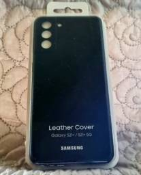 Capa Protetora Galaxy S21+ Couro