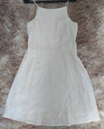 Vestido off-whiteves Hering