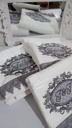 Kit toalhas de banho casal