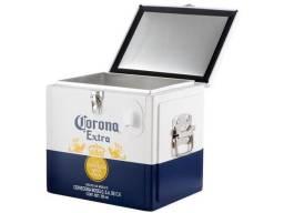 Cooler Corona 15 litros Original, 24 latas ou 12 garrafas