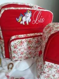Kit bolsas infantis personalizadas