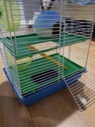 Gaiola para hamster pouco usada