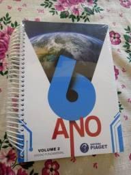 Livro 6° ano novo no plástico