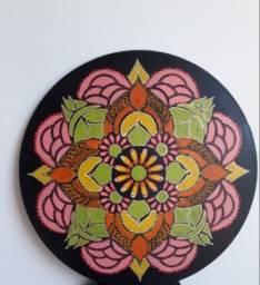Título do anúncio: Mandala Alegria , 30 cm, 3mm de espessura.
