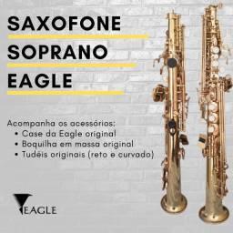 Saxofone Soprano Eagle Laqueado (Usado)