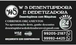 WS Desentupidora &  Dedetizadora