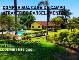 ** Compre Sua Casa de Campo Parcelada