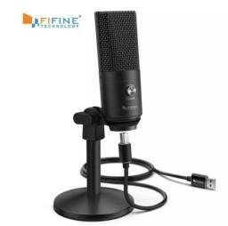 Título do anúncio: Fifine K670B Microfone Condensador Usb P/ Pc Original