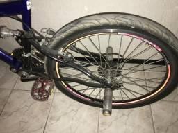 Bike com suspensão central 21v