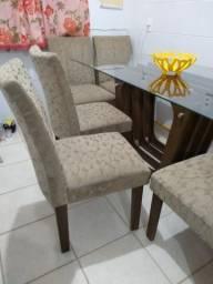 Mesa de luxo de 6 cadeira 800,00
