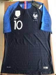 Camisa Jogador Original França Campeã Copa - Aceito Cartão ea56bf1919cb3