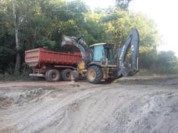 Retro escavadeira - 2009