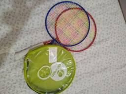 Raquetes de badminton kids