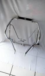 Protetor Crosser 150 +pedaleira + borracha de proteção