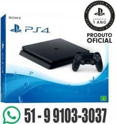 Playstation 4 Slim * Sem Juros é Aqui * NF + Garantia de 1 Ano