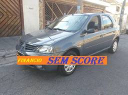 Renault logan 2008 financio sem score ficha no whatsap pequena entrada