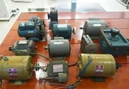 Motores e redutores usados em ótimas condições