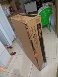 Teclado Yamaha Psr S670 Zero Aberto Somente Para Instalar Sample