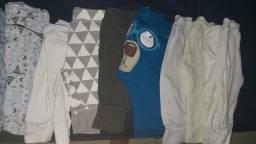 Lote roupas bebe menino