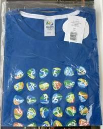 Camisas de varios modelos, e tamanhos da olimpiada rio 2016
