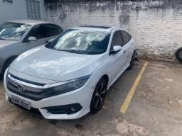 Honda Civic Turbo Touring Branco - 2018