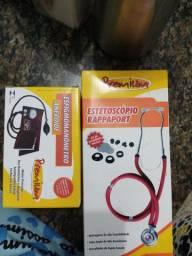 Vendo kit de pressão e coracao
