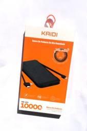 Power Bank Kaidi KD233 10.000mAh Carregador Portátil