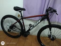 Bicicleta aro 29 KSW 21 marchas Praticamente Nova
