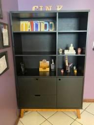 Estante para escritorio, casa, estúdio, decoração diversas
