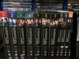 Coleção DVD SuperNatural