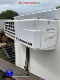 Thermo king V500 max 20 usado acoplado e eletrico Mathias implementos
