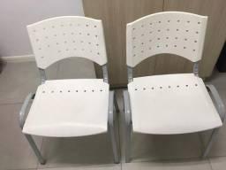 2 Cadeiras Fixa - Pra levar Hoje!