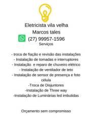 Eletricista vila velha Marcos Tales