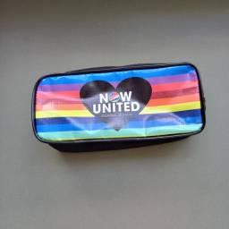 Estojo Now United novo