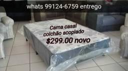 Cama box casal barato Direto da fábrica QUEIMA ESTOQUE