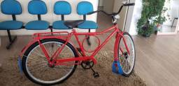 Bicicleta barra forte com dínamo