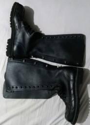 Coturno Vilela Boots Cano Longo N38