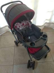 Carrinho de Bebê Cosco Vermelho