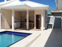 A&A- Casa completa,área gourmet e piscina em condomínio com segurança 24 horas