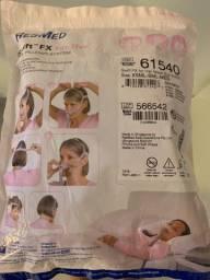 Máscara feminina para CPAP nova.