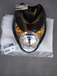 Novo kit Farol c/Carenagem  Titan 150 Mix 2009 Preto/verm pedal Twister roda tirando scap