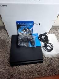 Vídeo game Playstation 4 Slim De 1Tb Sony + 1 jogo completo