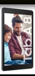 Tablet Samsung lacrado na caixa