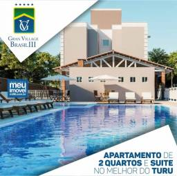 8* Gran Village Brasil Aparatamentos com Suíte e Varanda Gourmet