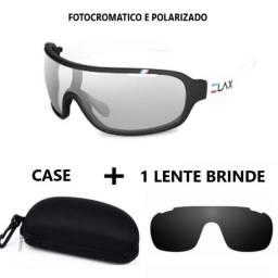 Kit Óculos Elax C/ Lente Fotocromática E Polarizada