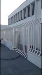 Grade de tubo com 2 portões 24 mts p 2 lotes