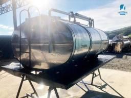 Título do anúncio: Tanque Rodoviario usado 4.000 lts para transporte de Leite