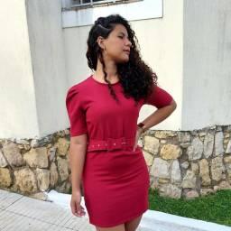 Vestido vermelho natal